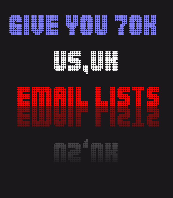 give you full 75K real and active emails