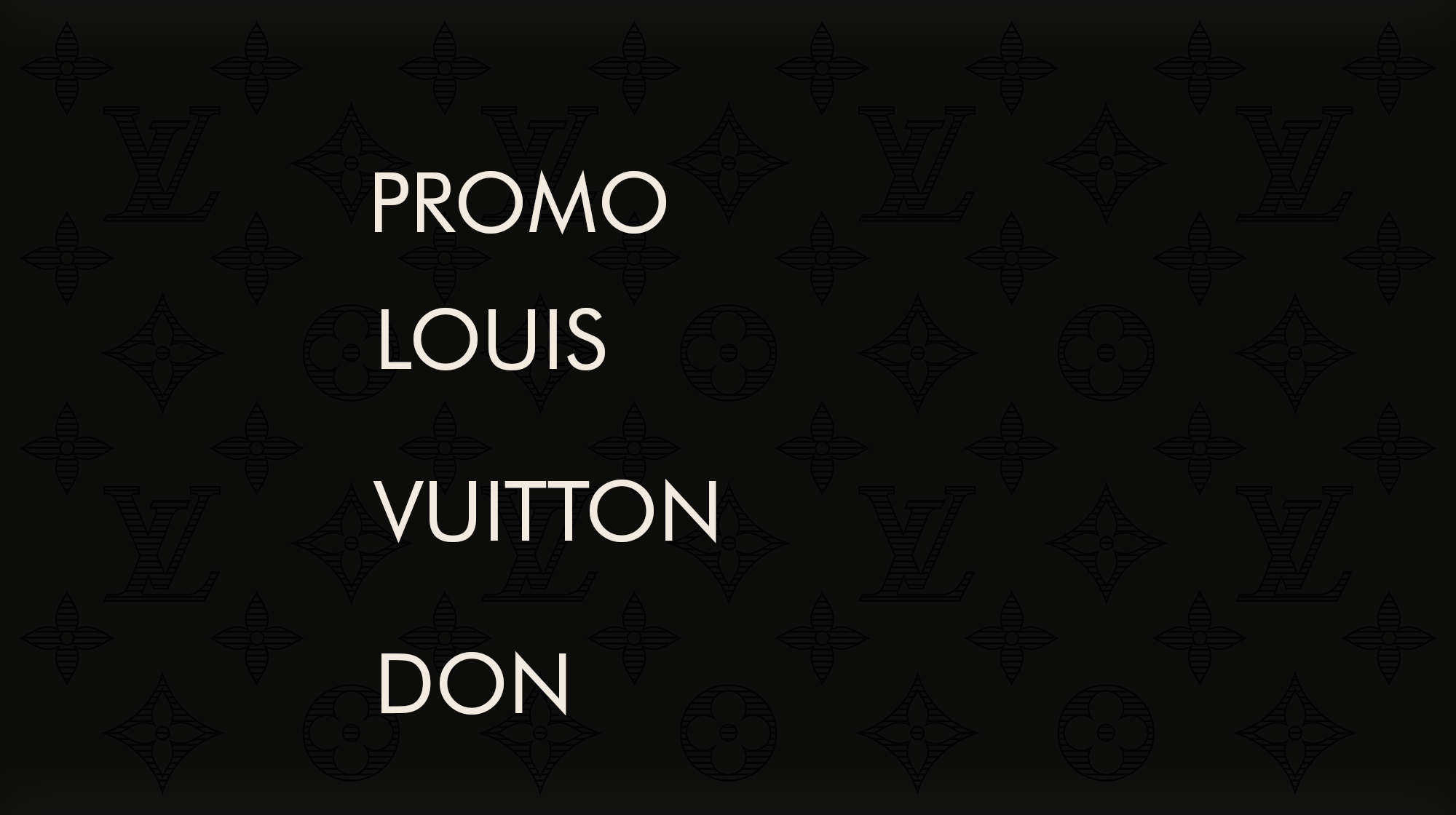 Mixtape Promo YouTube Upload to Louis Vuitton Don 40K+ subs channel