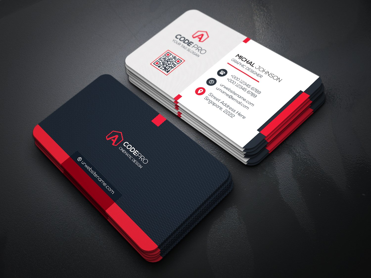 Design 2 unique and stunning business cards with sour...