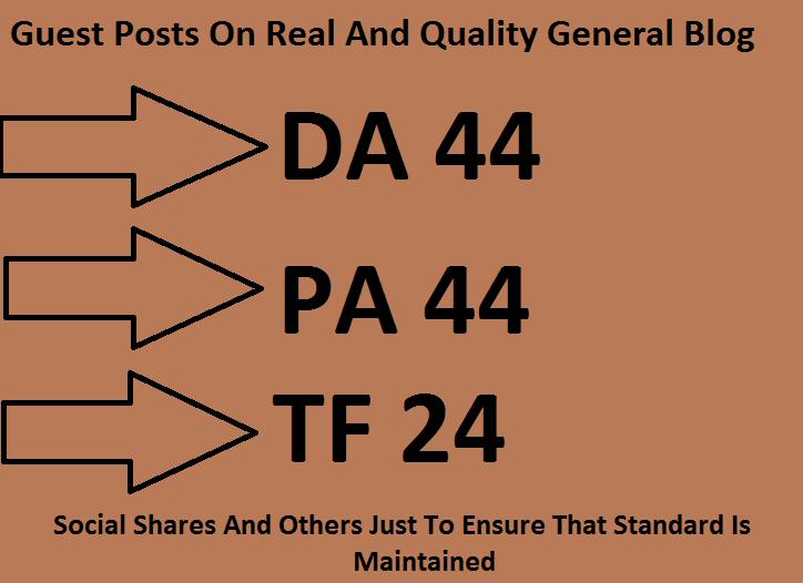 Guest Posting On Da 44 General Blog