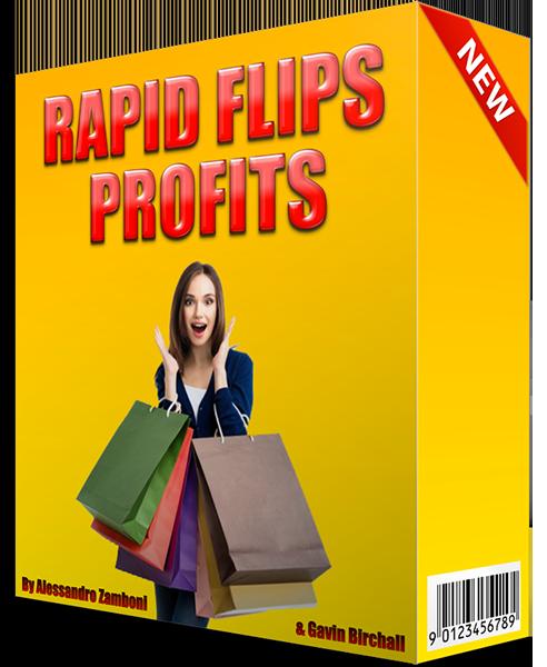 Make Money with Rapid Flips Profits tutorial