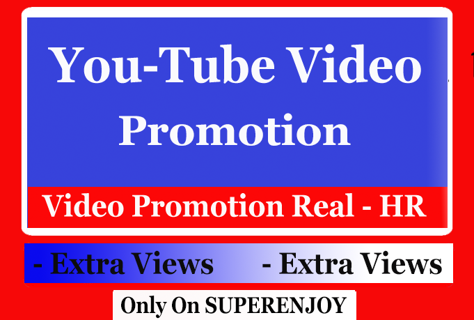 Organic YouTube Video Promotion with Social Media Marketing in genuine
