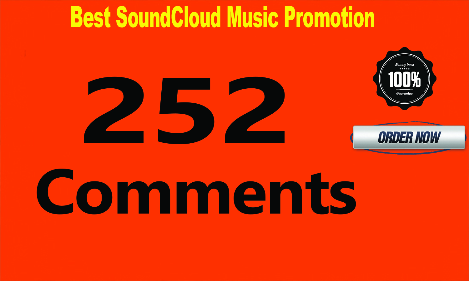 252 SoundCloud Comments or Likes or Repost or Followers