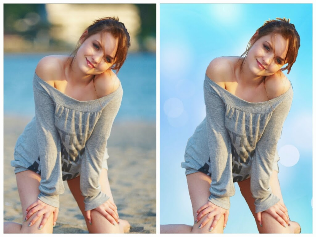 Remove Or Change Any Background With Simple Retouching,15 Photos For Basic