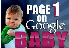 Using PPC Rank your website on Google 1st page for 1 week