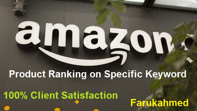 Provide Amazon keyword Ranking on first page