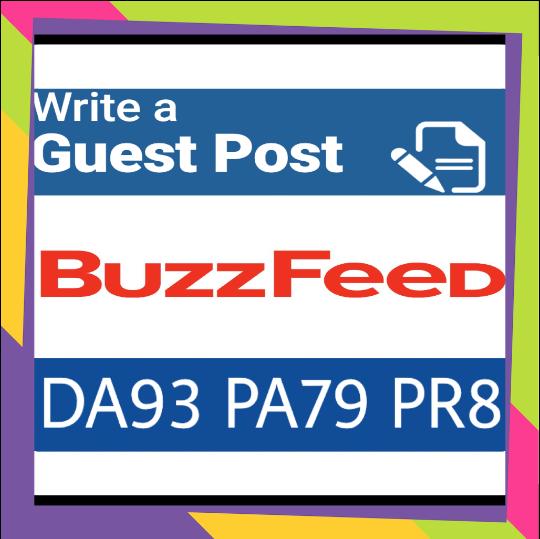 Publish guest post on buzzfeed. Com DA 93 PA79, PR 8 DOFOLLOW Backlink