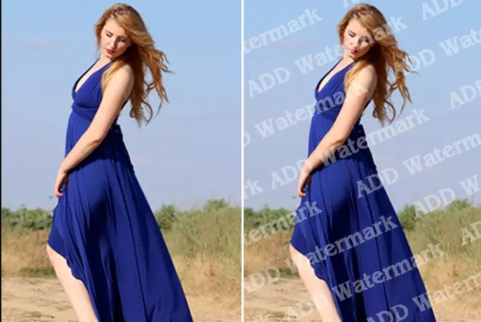 Instant 20+ Images watermark remove, add, change  from your Image within 24 Hours