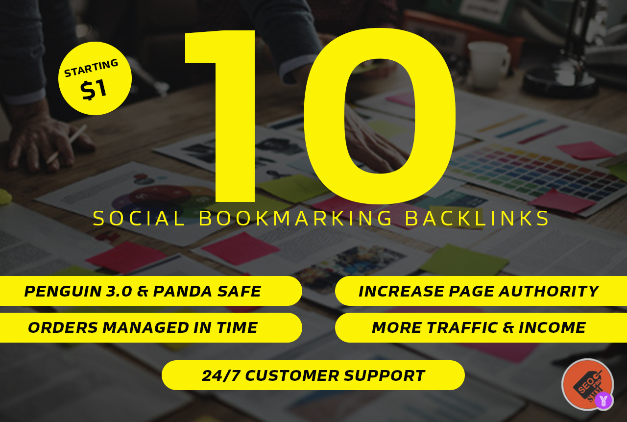10 High PR Social Bookmarking Submissions
