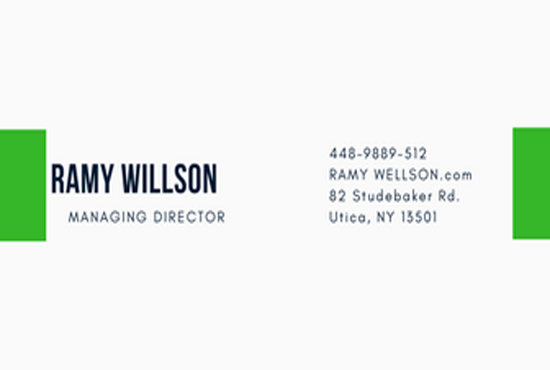 Design Double Sided Business Card In 10 Hours