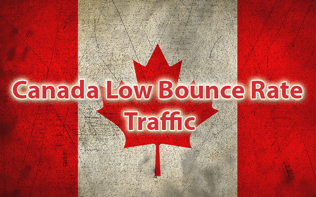 Drive 45,000 Canada Low Bounce Targeted Traffic