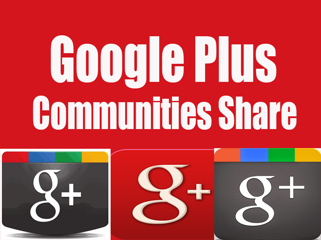 Manually do 25 Effective Google Plus Communities Post Share with HashTag