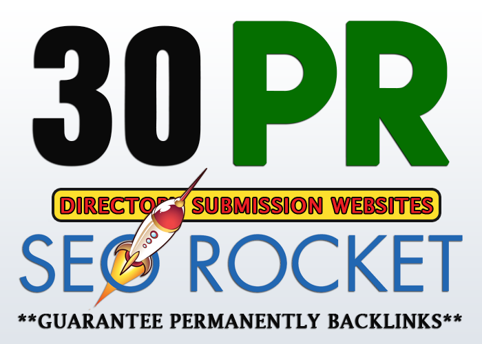 add 30 SEO Authority High pr Backlinks