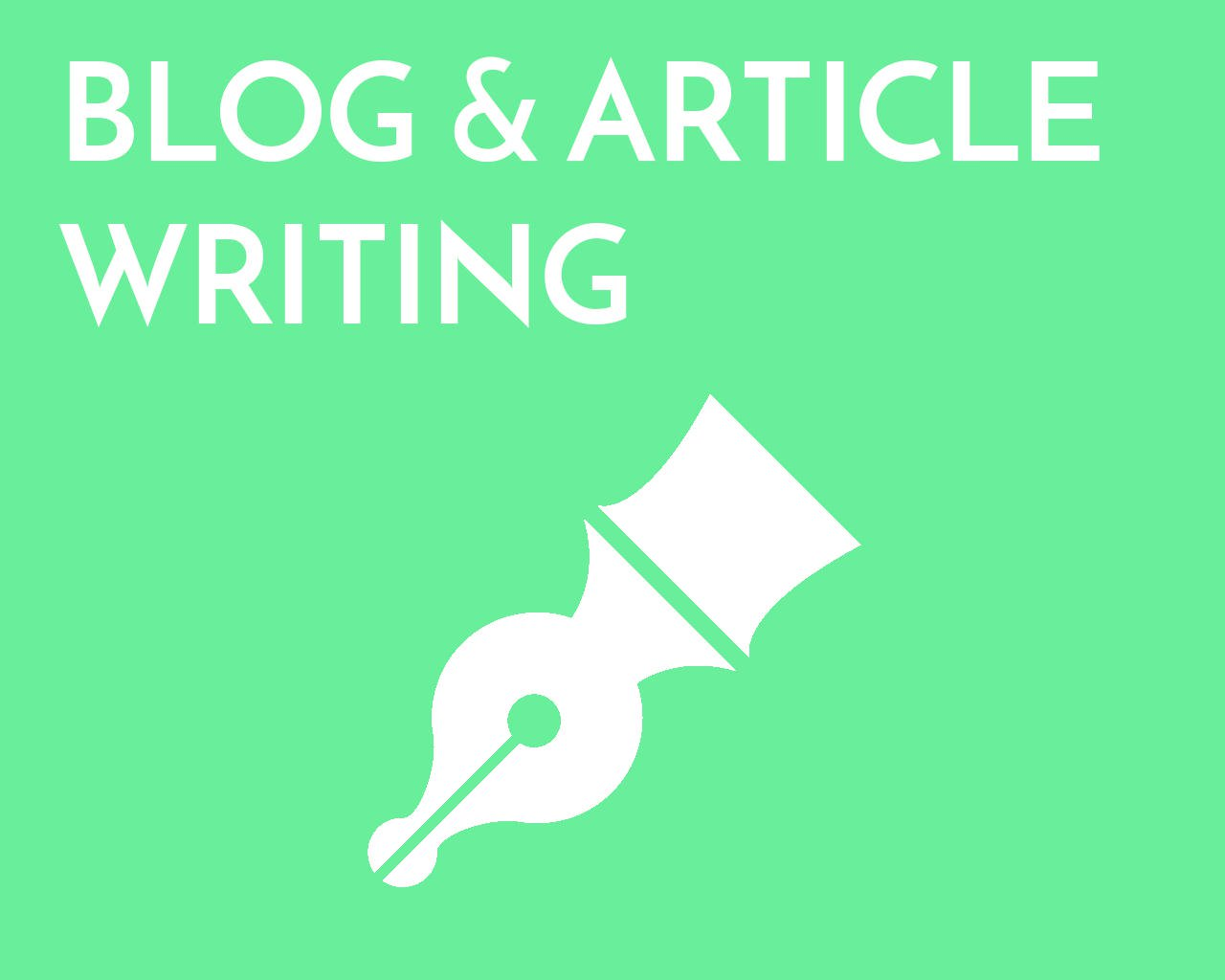 Write 500 Words Blog,  Article Or Website Content