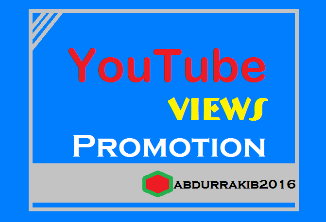You can get high quality Youtube promotion for your video