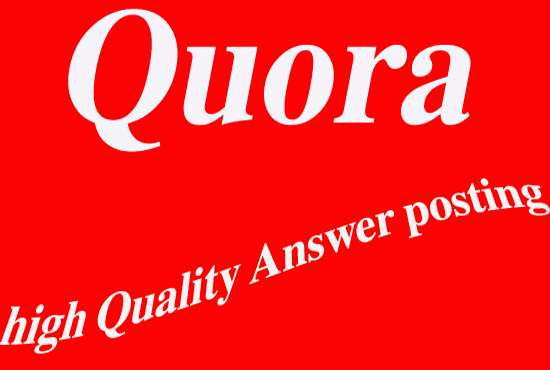 Promote Your Website On 30 Quora With Contextual Link