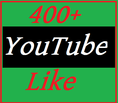New offer 400-450 YouTube like 10 custom comments non dropped