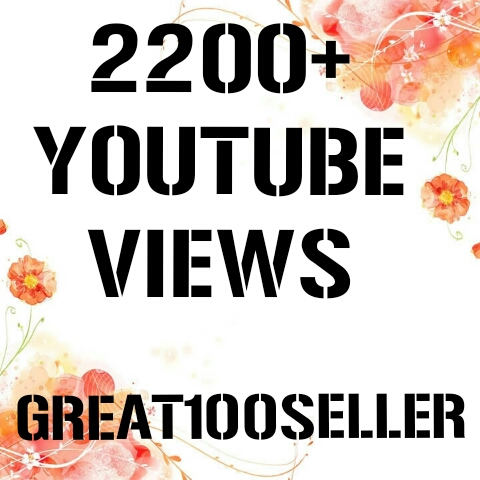 1100+ to 2200+ Y0U TUBE Views Fast Delivery