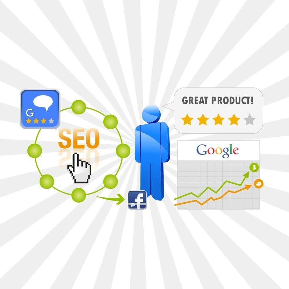Customer Ratings and Reviews Pro + Google Rich Snippets Module for Prestashop