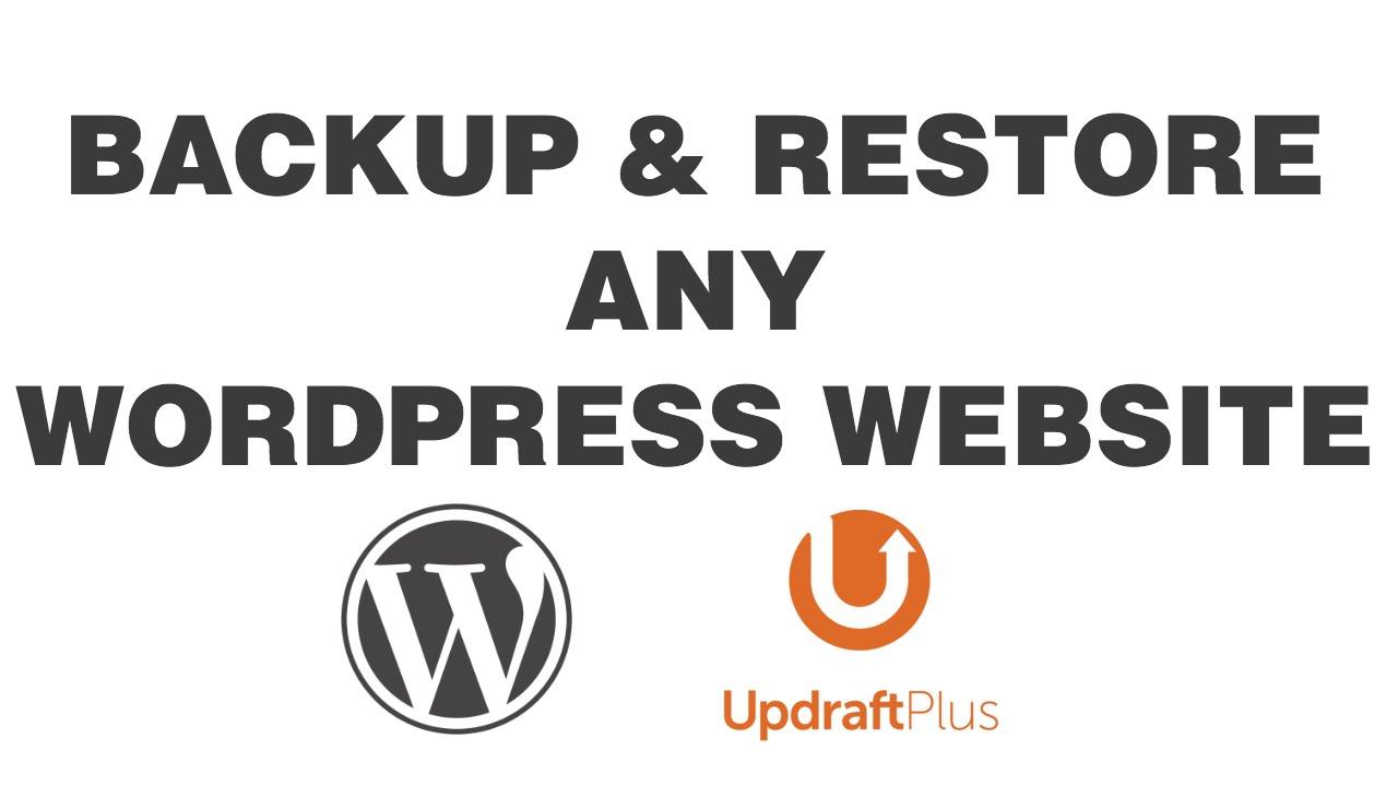 Backup,Restore, Migration Your Wordpress Website in Just 24 hours