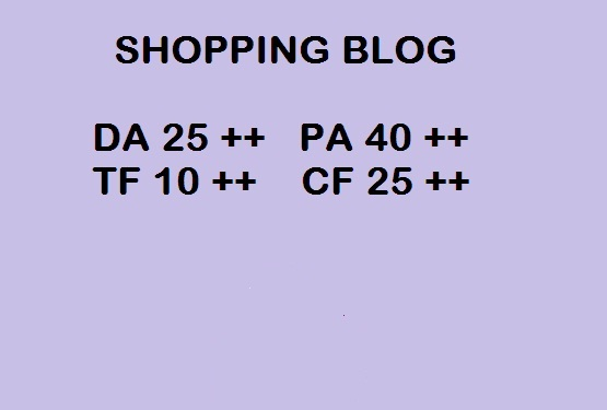 Guest Post High-Quality Shopping Blog