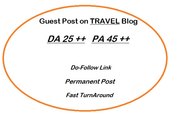 Guest Post on Quality TRAVEL Blog writing + posting