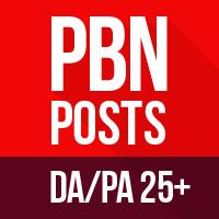 Create 5 Blog Posts on DA/PA 25+ TF/CF 15+Domains