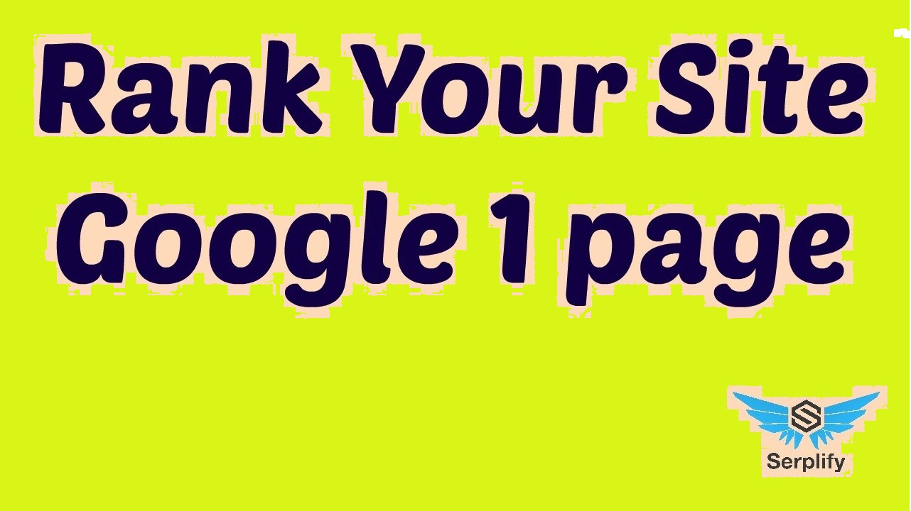 Super quality push your Guaranteed Google Top 5 Ranking or Refund