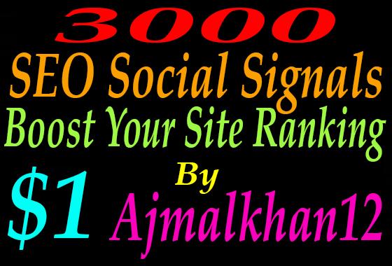Create 3000 Permanent Seo Social Signal