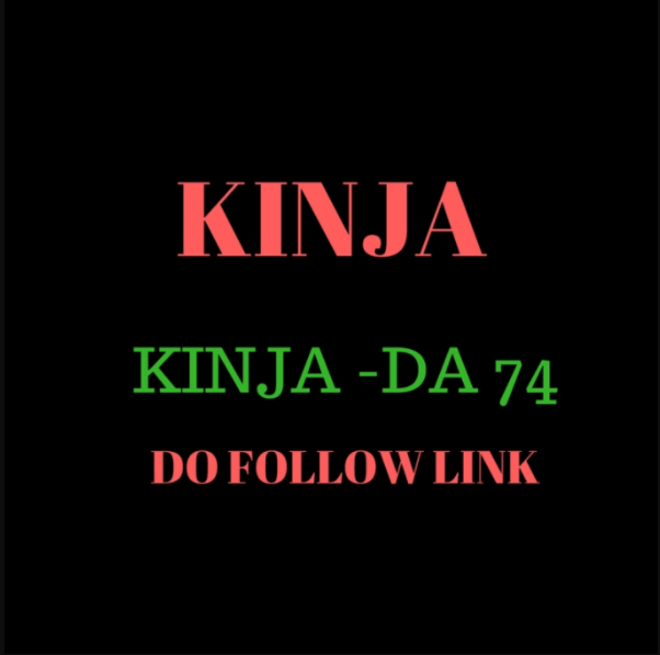 Do write and puplish Guest Post On Kinja With Do Follow Backlinks