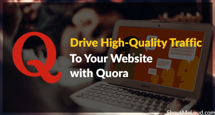Promote your website with 15 HQ Quora Answer