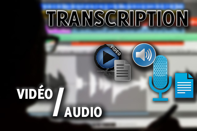 Video and Audio Transcription