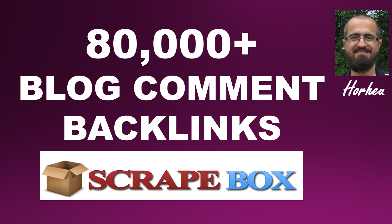 Do 80,000 Blog Comments Backlinks With Scrapebox