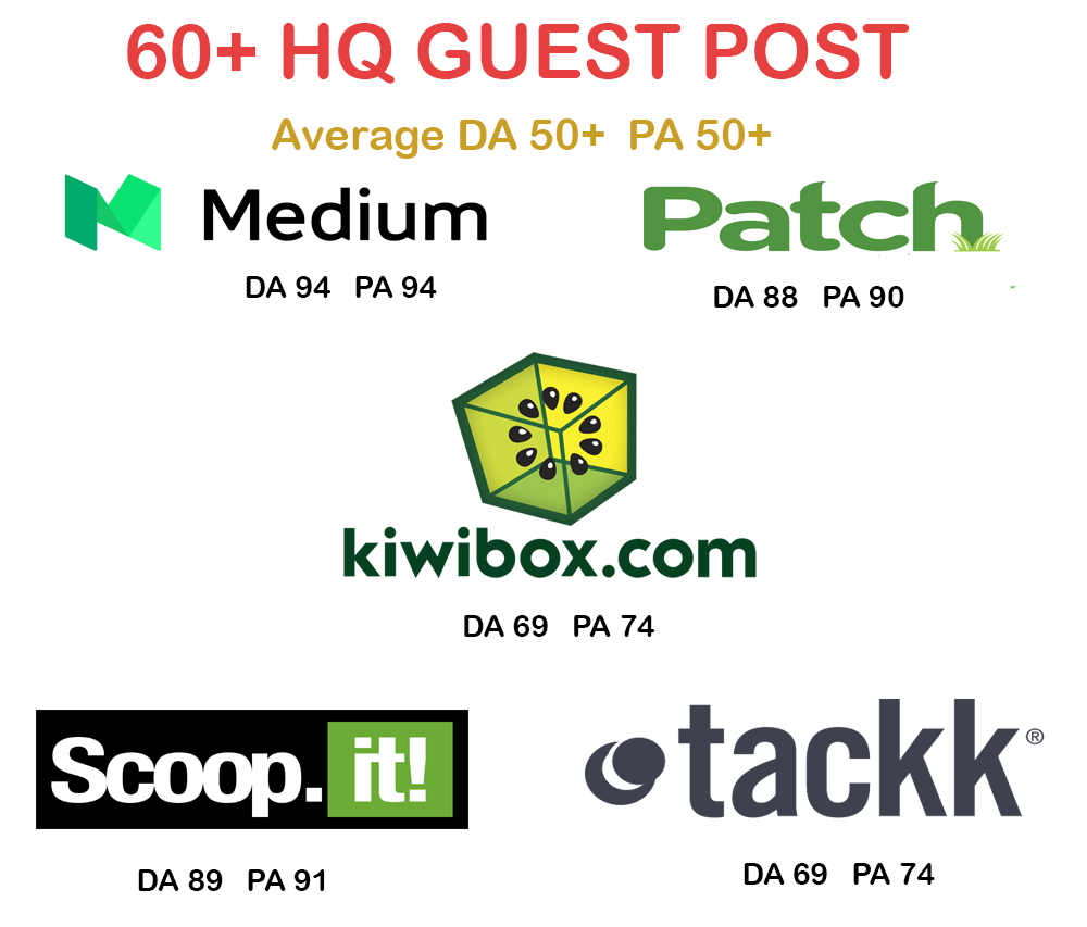 (Upto DA90)  10 High Metrics Guest Posting Services | 100% Results with Manual Written Content