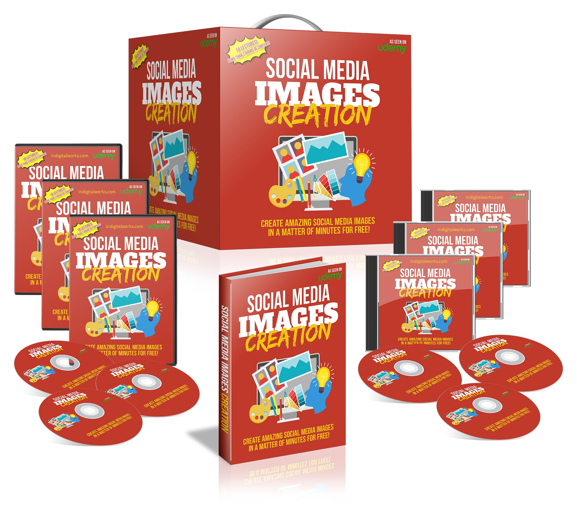 Social Media Images Creation + 2 Gifts