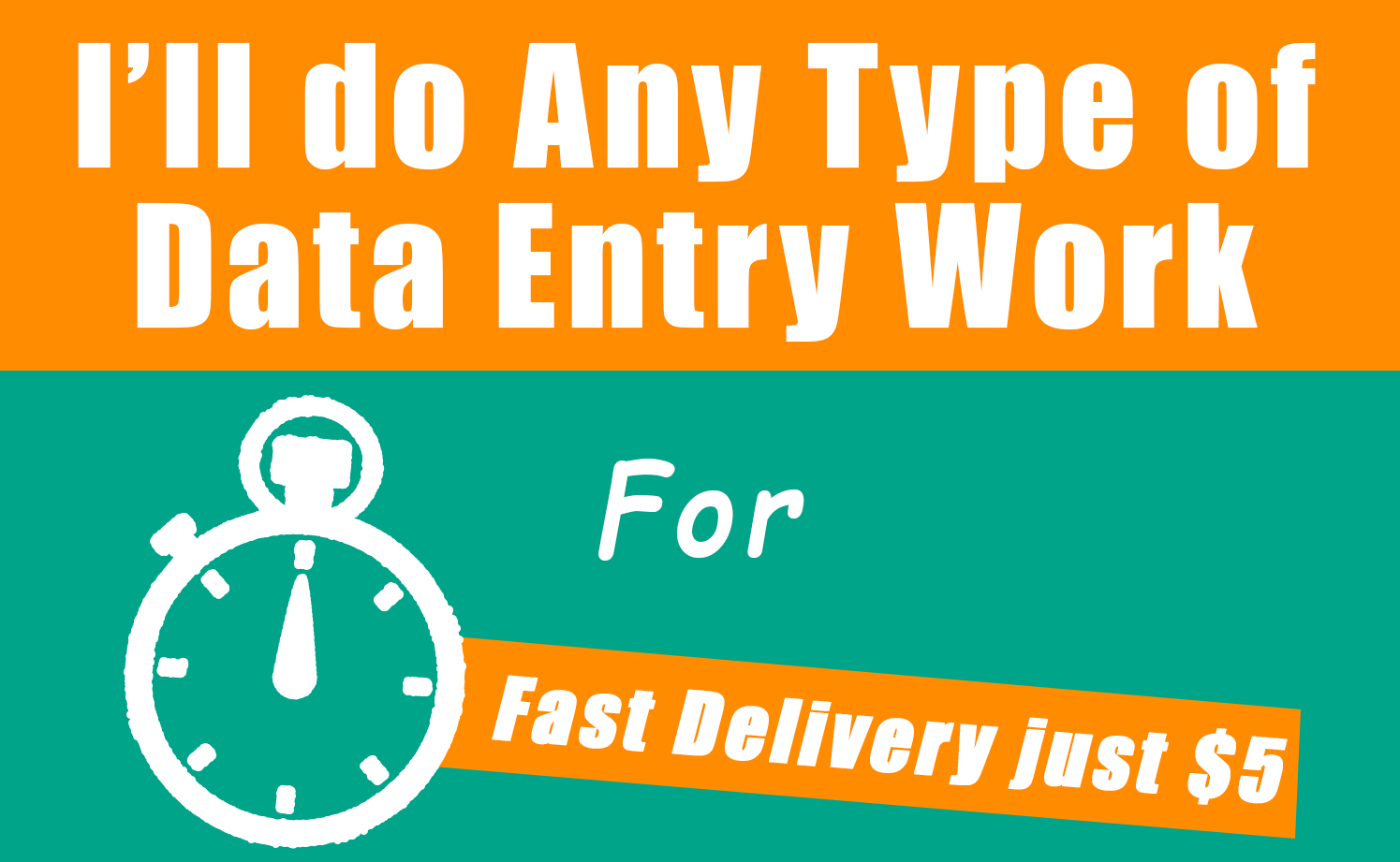 Will Do any type of data entry More than 500 words.