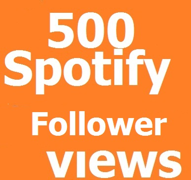 instant start 200 Spotify Followers 1-24 hours delivery