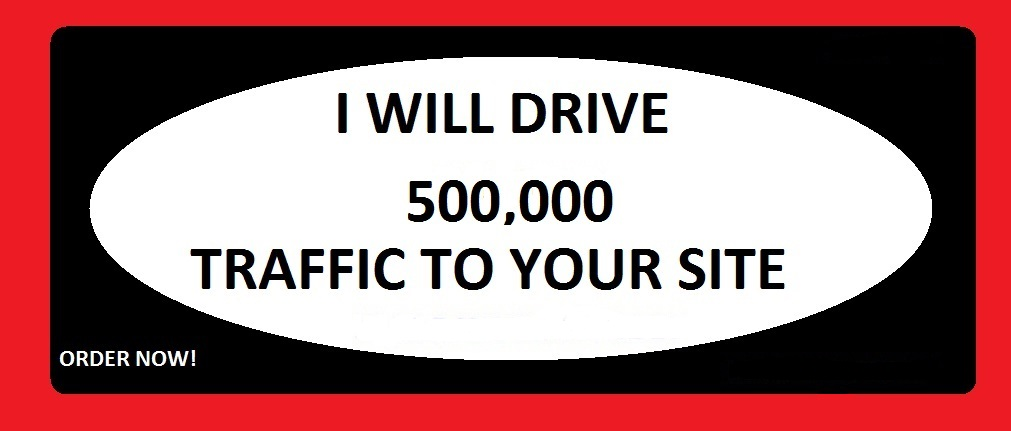 Drive 500,000 traffic to Your Website