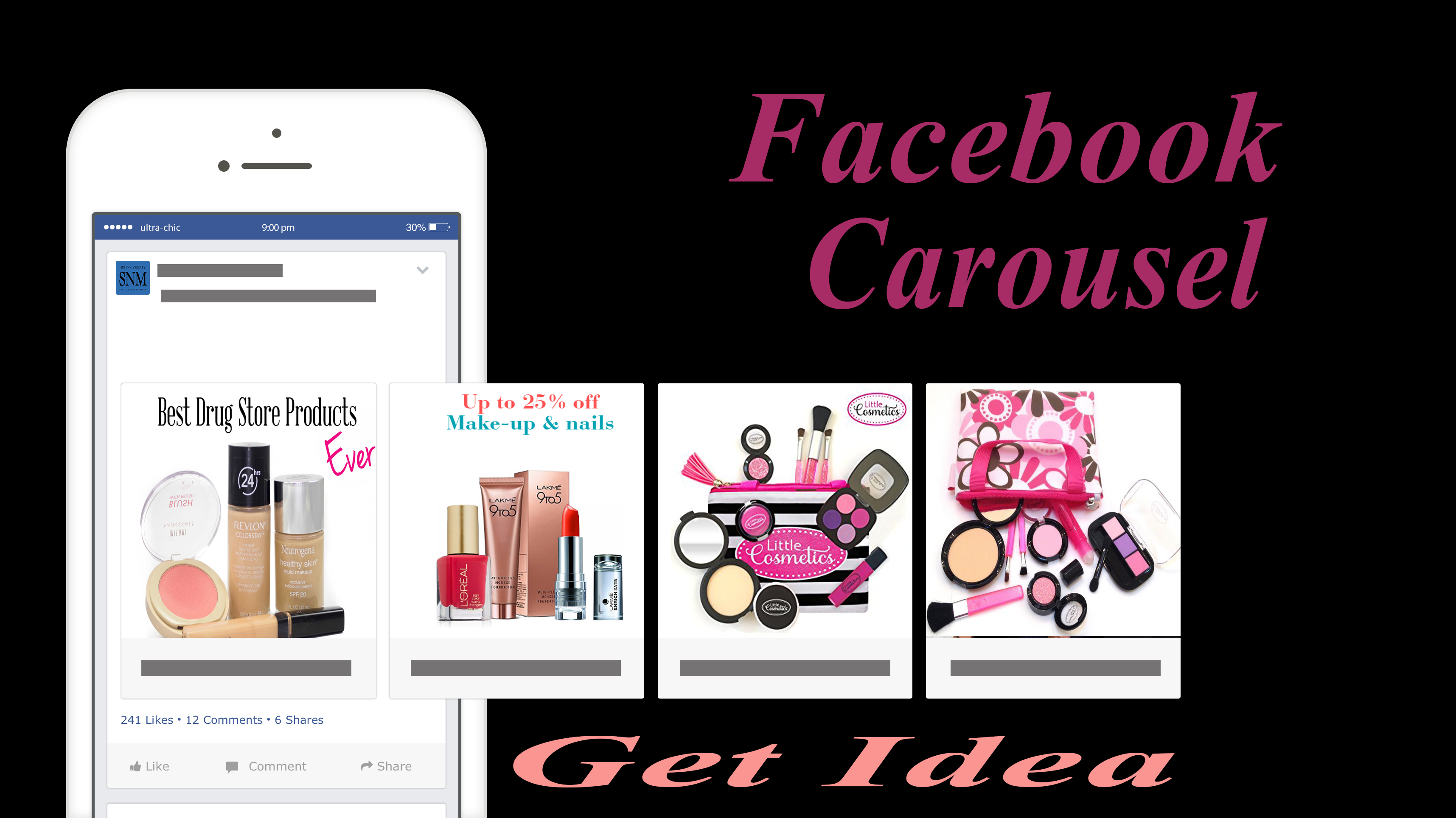 create Facebook Carousel Ads , Banner , Ads, Advertising design
