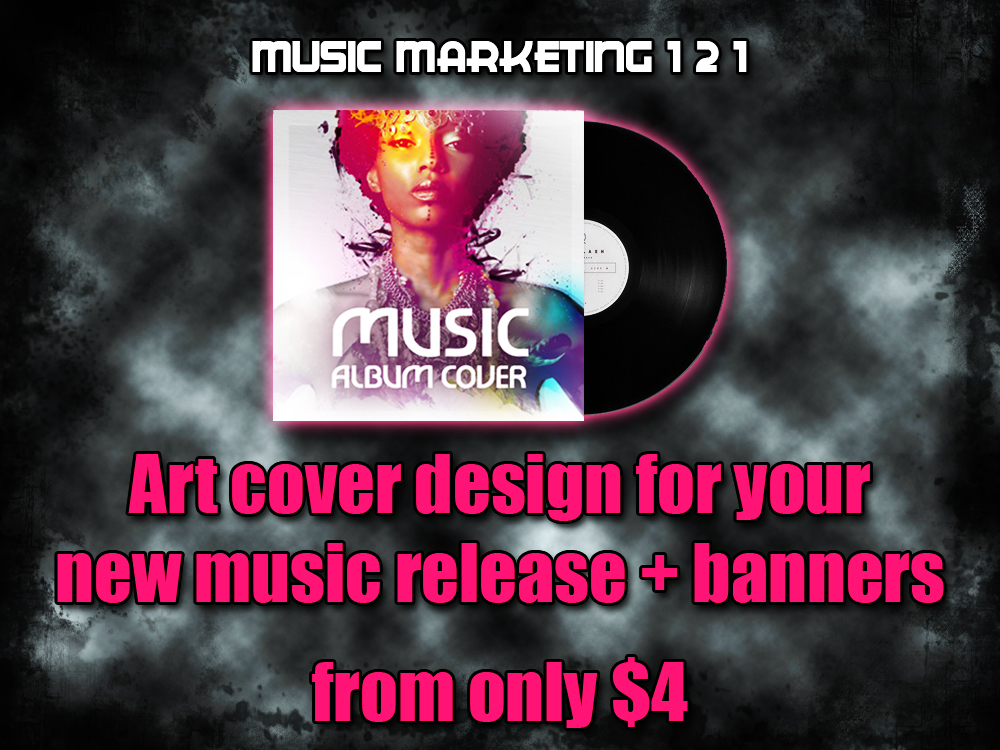 Art Cover Design for your Music