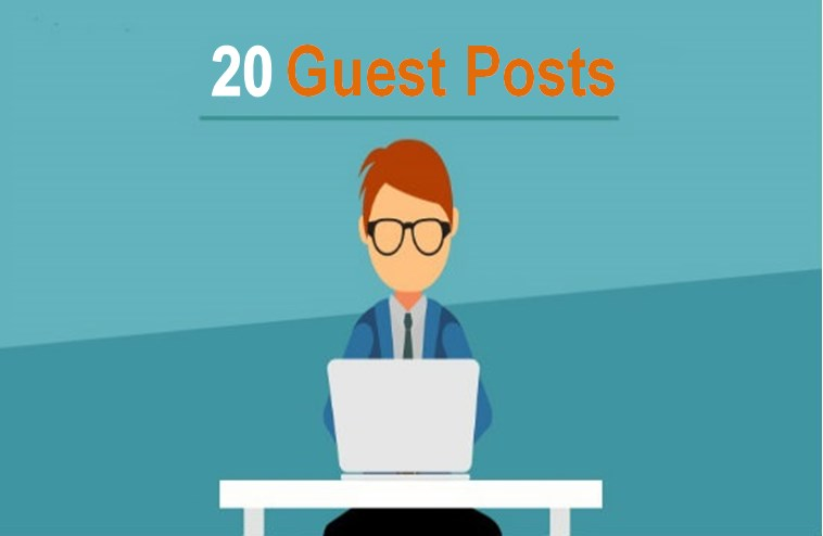 write and guest post on your chosen 5 high DA sites