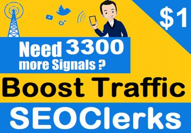 we give supernatural 3300+ social signals HQ and fast