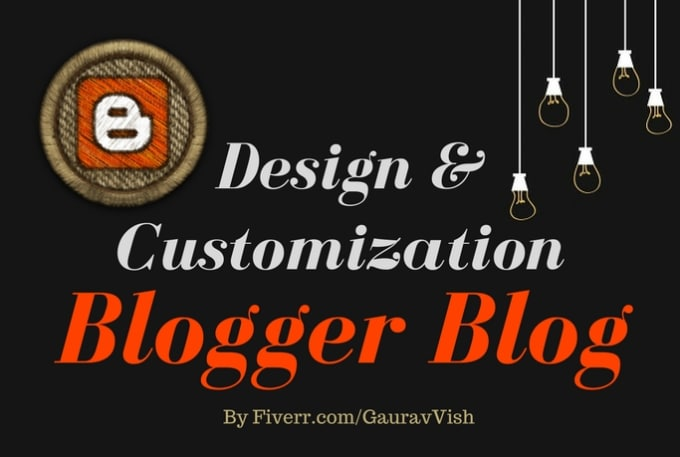 create beautiful blogger blog