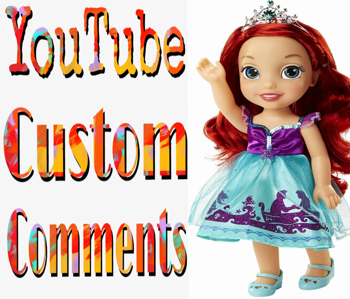 Stable 50+ Non-Drop Custom Comment Different YouTube Account must profile picture