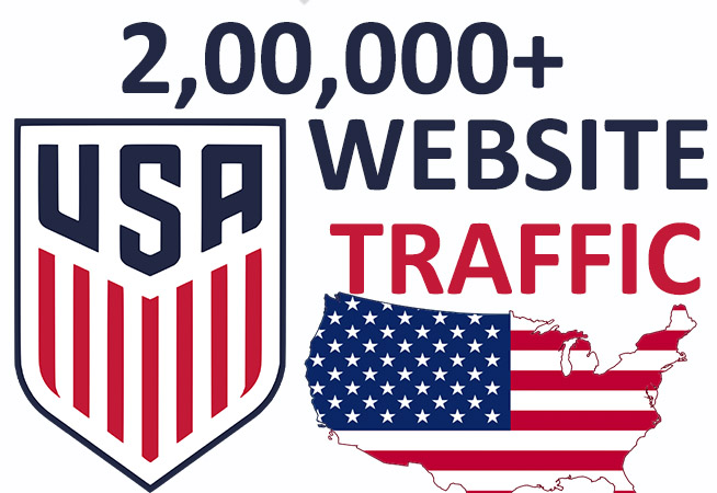 2,00,000+ USA Website Traffic - HQ Real Service