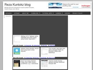 Reza Kuntokz blog