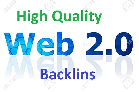 Create 25 web 2.0 backlinks manually High moz rank