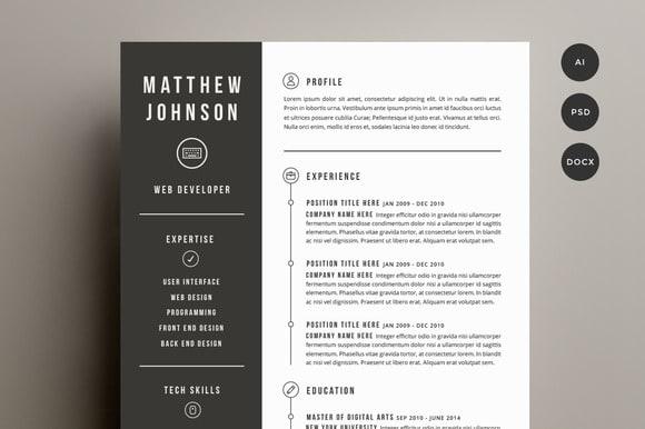 Design Resume.CV,Curriculum  Vitae,Cover Latter