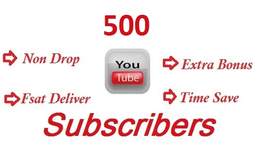 Get Buy 500+ YouTube Subscribers In Your Channel