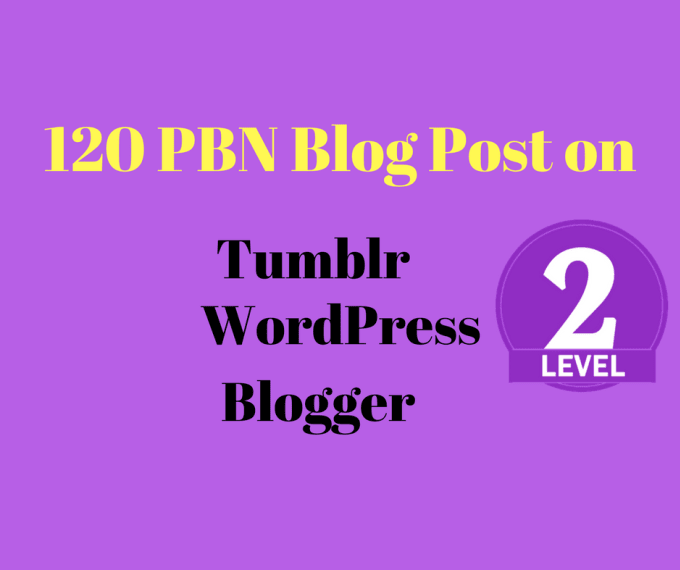 do permanent 120 web 2.0 pbn blog posts manually